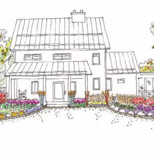 A Conceptual Rendering Of Gardens.