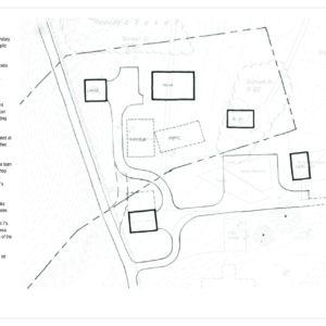 An Early Conceptual Site Design.