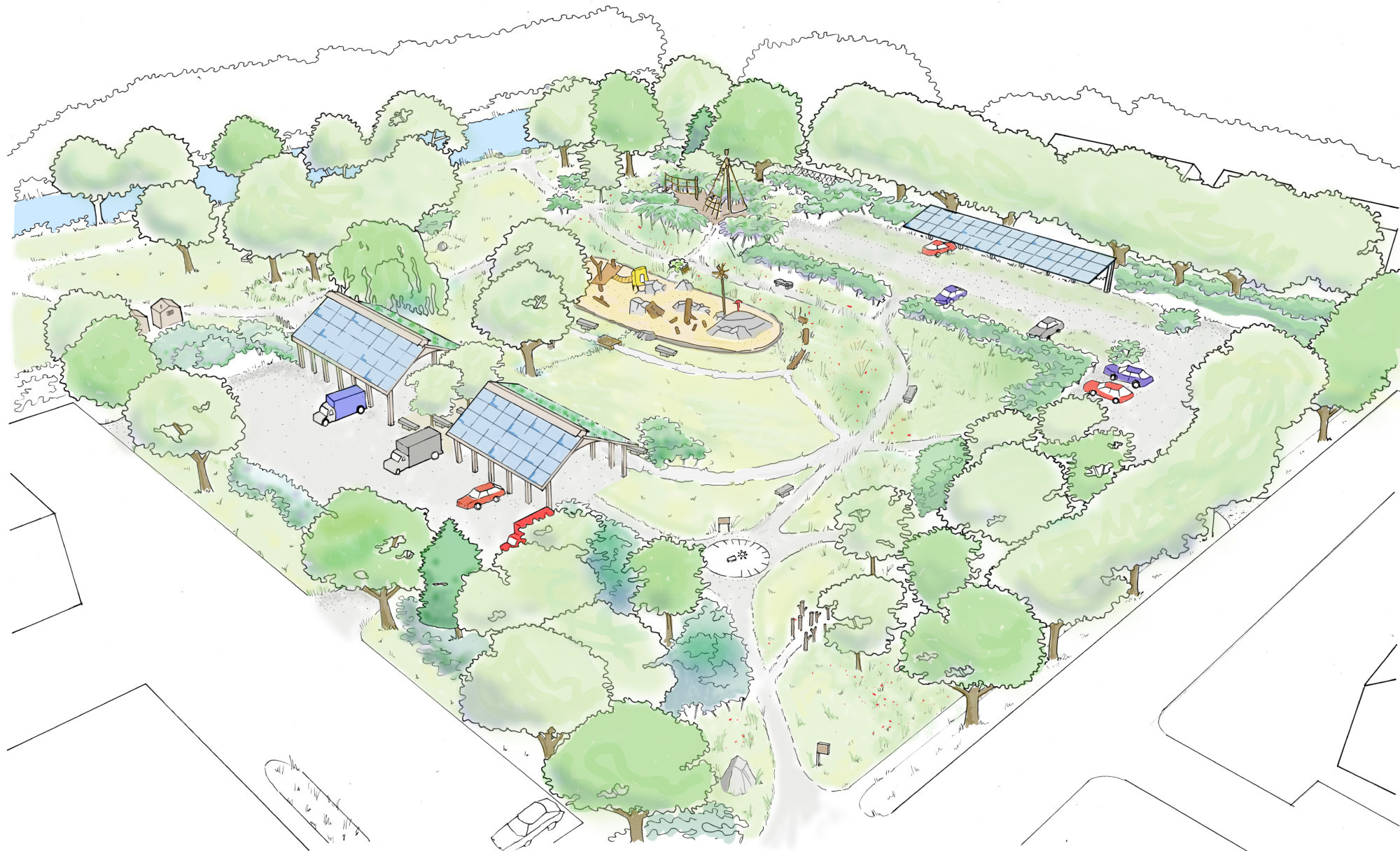 Innovative Park & Playground