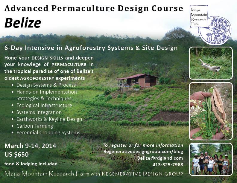 Belize Advanced Permaculture Design Course