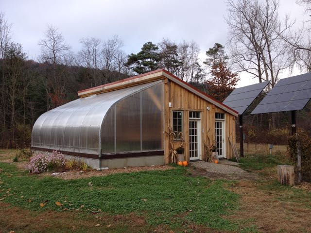 RDG Bioshelter Project In The Greenfield Recorder